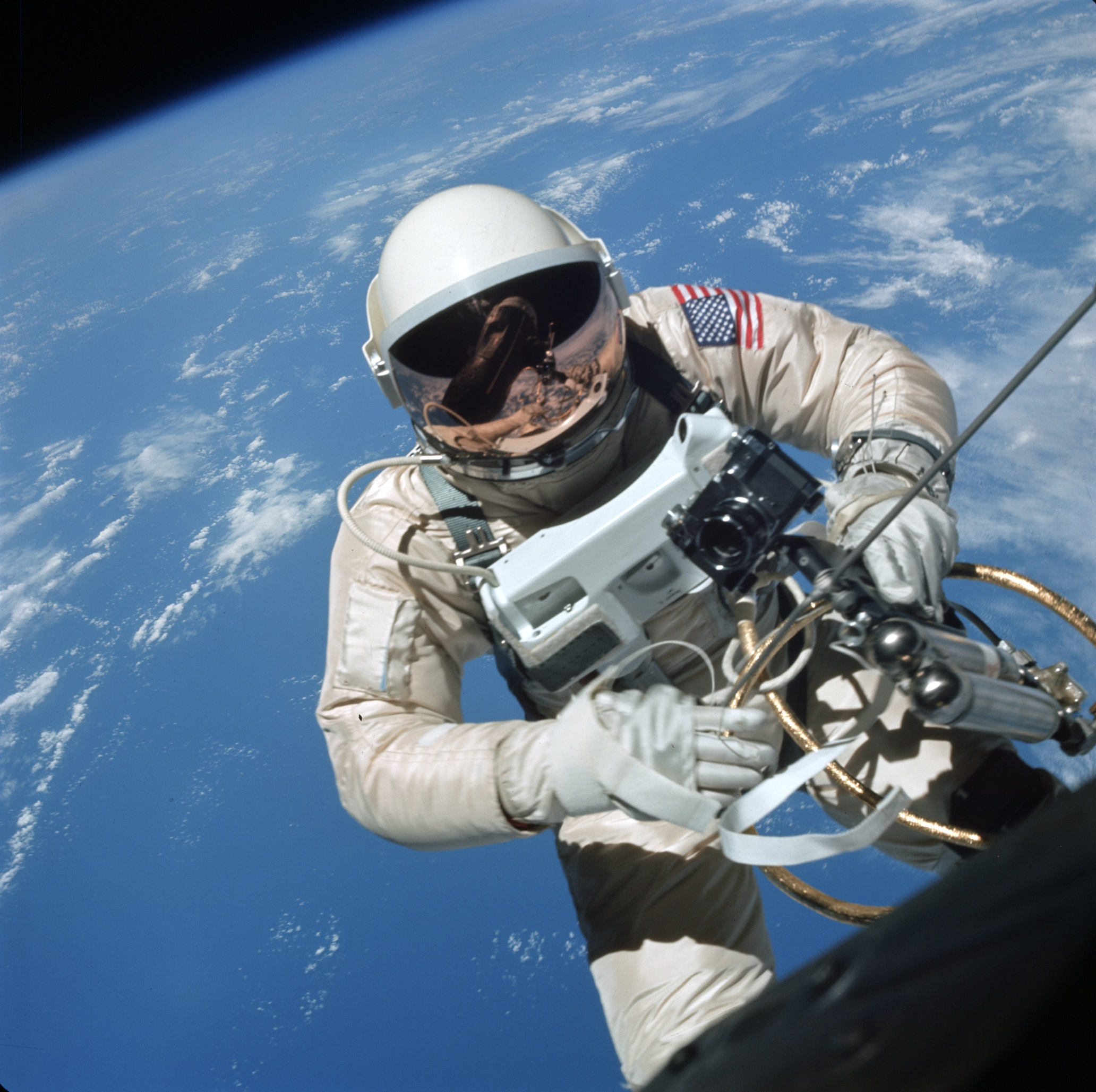 american exceptionalism and space exploration spudis lunar astronaut ed white makes the first american space walk 1965
