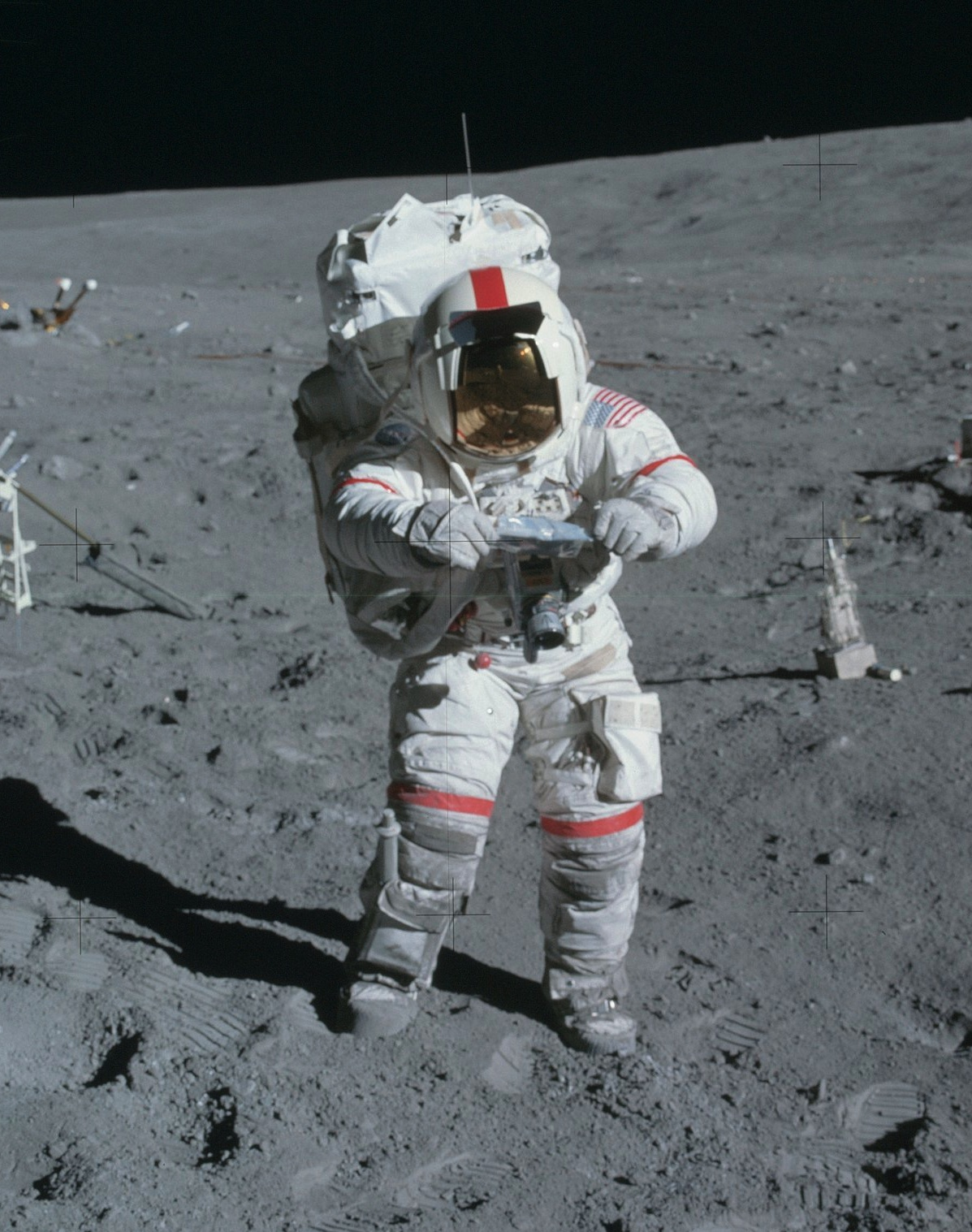 astronauts jumping on the moon - photo #25